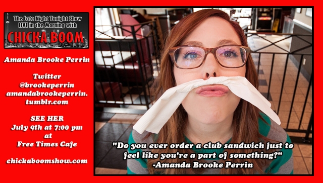Amanda Brooke Perrin - oh my god, she's great!